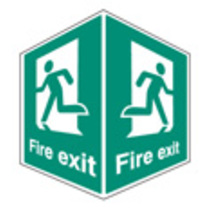 Fire Exit - Projecting (58005)