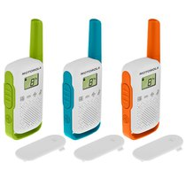 Motorola Talkabout T42 Blue Triple Pack
