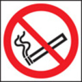 No Smoking Symbol (Rigid Plastic,80 X 80mm)