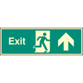 Exit - Straight On (Self Adhesive Vinyl,450 X 150mm) (22015L)