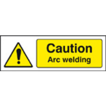 Caution Arc Welding (Self Adhesive Vinyl,600 X 200mm)