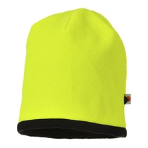 Reversible Beanie Hat Yellow/Black