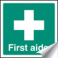 First Aid & Safe Condition Signs - 50x50mm