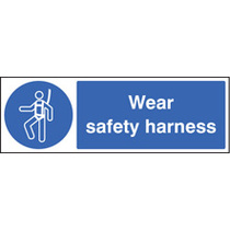 Wear Safety Harness (Rigid Plastic,300 X 100mm)