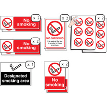 Prohibition & No Smoking Signs 53076