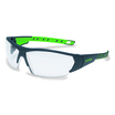 uvex i-works Anthracite/Lime Frame Clear Lens Spec
