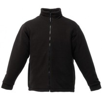 Regatta TRF530 Asgard Quilt Lined Fleece Jacket - Black