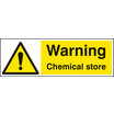 Chemical Store (Self Adhesive Vinyl,600 X 200mm)