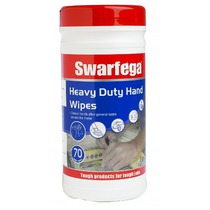 Swarfega Heavy Duty Hand Wipes (70 Wipes)