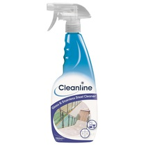 Cleanline Glass & Stainless Steel Cleaner 750ML