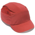 Reduced Peak First Base Bump Cap - Red