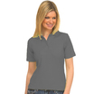 UC106 Charcoal Ladies Pique Polo Shirt