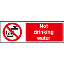 Not Drinking Water (Self Adhesive Vinyl,300 X 100mm)