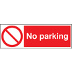 No Parking (Rigid Plastic,400 X 300mm)