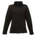 Regatta TRF565 Ladies Micro Full Zip Fleece - Black