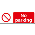 No Parking (Self Adhesive Vinyl,300 X 100mm)