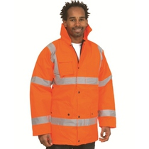 Hi-Vis Standard Orange Jacket - 3XL