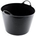 42L Multi Purpose Flexible Bucket - Black