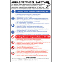 Abrasive Wheel Dangers & Precautions