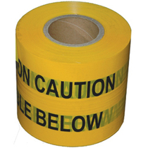 Underground Warning Tape - Fibreoptic Cable Below