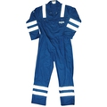 Royal Blue Hi-Vis FR Boilersuit c/w Double Bands - XXL