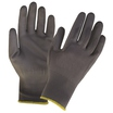 KeepSAFE GLO162 Grey PU Coated Nylon Glove