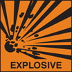 Explosive (Self Adhesive Vinyl,150 X 150mm)