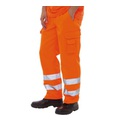 Hi-Vis Orange GORT Trousers - Tall Leg