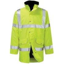 Rapier Hi-Vis Breathable Coat - XXL