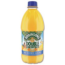 Double Strength Orange Squash