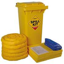 CSK120 General Purpose Wheelie-bin Spill Kit - 120L