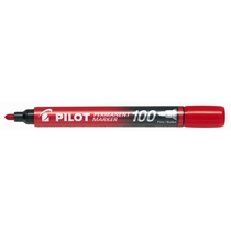 Pilot Permanent Marker Bullet Tip (Pack of 12)