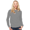 SG20F Ladies Oxford Grey Crew Neck Sweatshirt