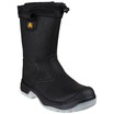 FS209 Warm Lined Black Rigger Boot - S3 SRC