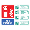 Abc Powder Ident (Self Adhesive Vinyl,100 X 150mm) (21233D)