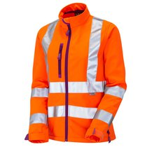 HONEYWELL Ladies Softshell Jacket Orange