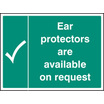 Ear Protectors Are Available On Request (Rigid Plastic,400 X 300mm)