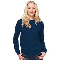 SG20F Ladies Navy Crew Neck Sweatshirt