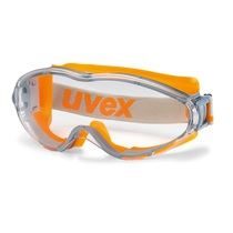 uvex ultrasonic goggles grey/orange