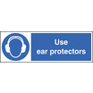 Use Ear Protectors (Self Adhesive Vinyl,300 X 100mm)