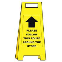 VCC.458 Free Standing Heavy Duty - Please Follow This Route Around The Store - 600MM