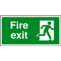 Fire Exit Sav Backed