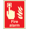 Fire Alarm (photo. Rigid Plastic,200 X 150mm) (31010E)