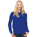 SG20F Ladies Royal Blue Crew Neck Sweatshirt