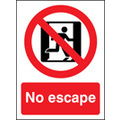 No Escape (Self Adhesive Vinyl,200 X 150mm) (21624E)
