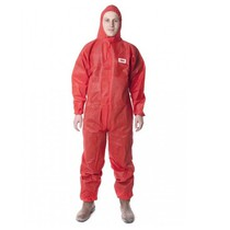 3M Economy Type 5/6 Disposable Coverall - Red