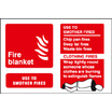 Fire Blanket (Self Adhesive Vinyl,100 X 150mm) (21246D)