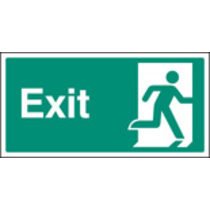 Final Exit Right (Self Adhesive Vinyl,200 X 100mm) (22036X)