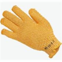 KeepSAFE Yellow Criss Cross Glove