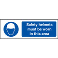 Safety Helmets (Self Adhesive Vinyl,300 X 100mm)
